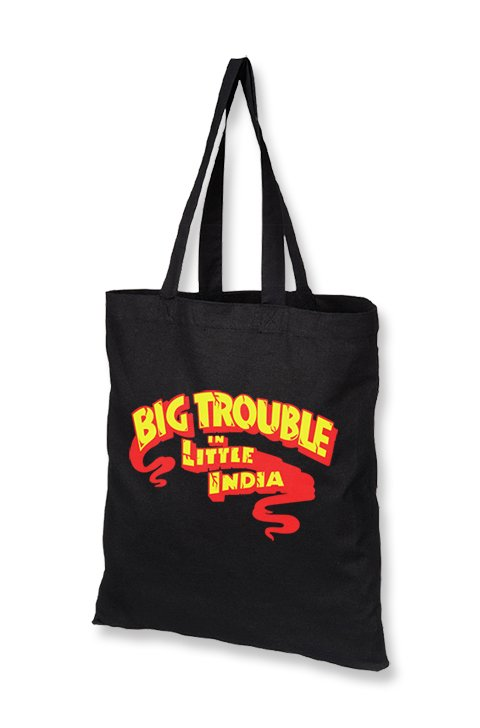 Big Trouble in Little India Tote