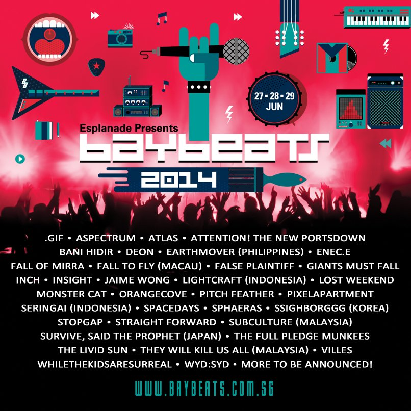 Baybeats 2014 Line-up-2