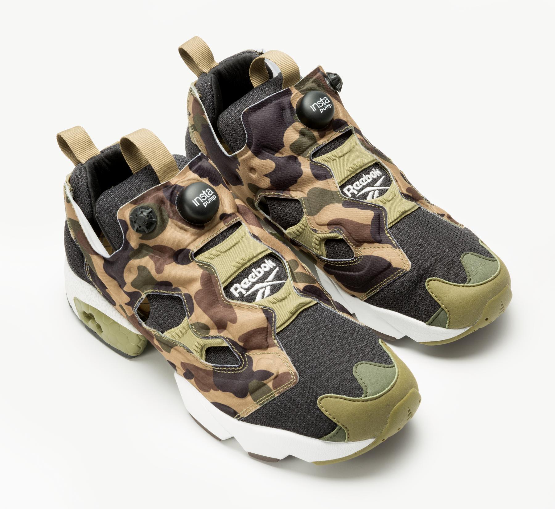 "A Bathing Ape x mita sneakers x Reebok Instapump Fury OG ""Camo ... 84774b44c"