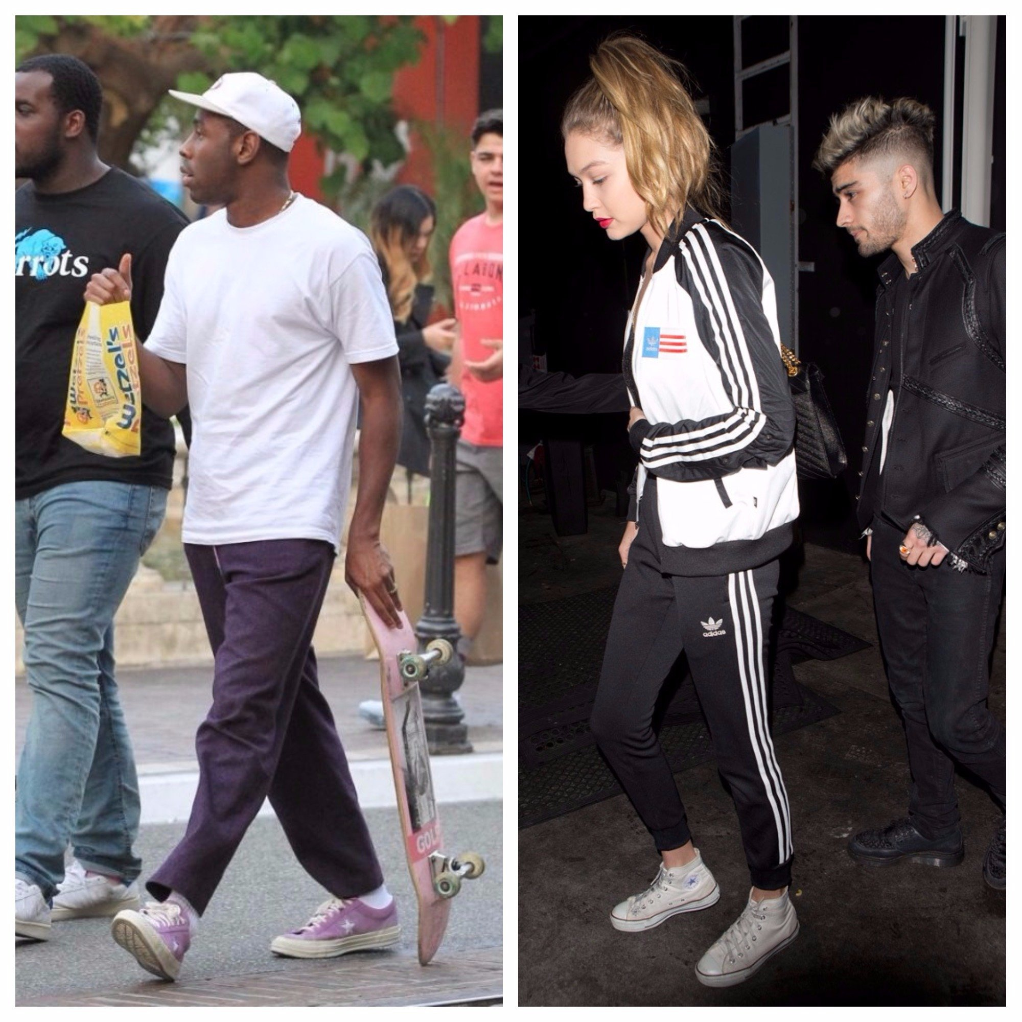 8e94c1bee0e224 Stylish Celebs Wearing Your Favourite Sneakers — from Converse To ...