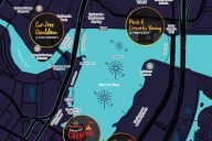 Marina Bay Singapore Countdown 2017 map