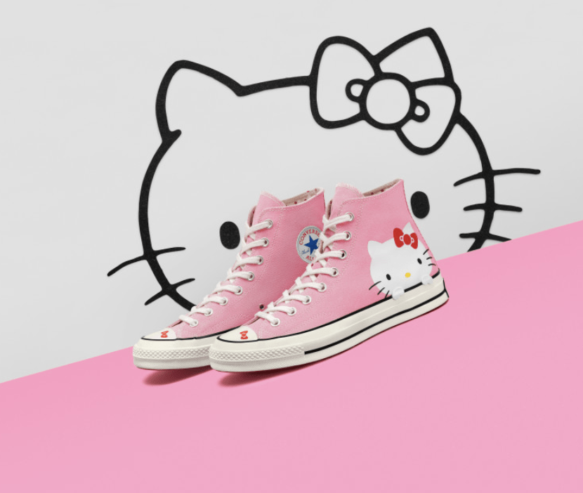 e74adfed475 Converse x Hello Kitty Might Just Be The Sneaker For You This Fall ...
